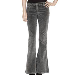 Theory Flare Corduroy Pants Grey Size 4